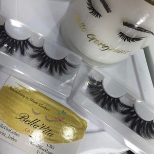 Glam 25mm mink lashes